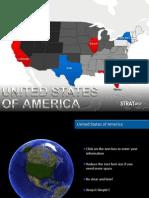 USA PowerPoint Maps StratPro