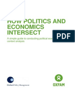 How Politics and Economics Intersect