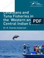 Indian Ocean fisheries influence on Tuna and Dolphin