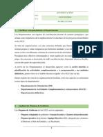Análisis estructura organizativa de un IES