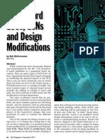 Bare Board ECOs, ECNs and Design Modifications