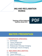 Dredging and Reklamtion