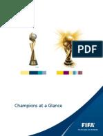 Fifa Champions at a Glance En