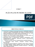 Curs 7 - Placi Pe Mediu Elastic [Autosaved]