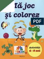 192064712 Carti Ma Joc Si Colorez Activitati 4 6 Ani Ed Aquila TEKKEN