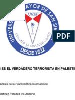 CONFLICTO ISRAEL-PALESTINA