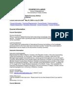 UT Dallas Syllabus for ims5200.0g1 06u taught by Rajendra Sharma (rms021100)