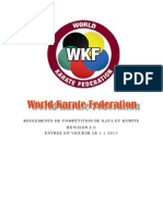 Wkf Competition Rules Version 8 0 Fra
