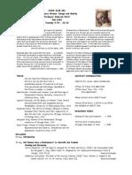 UT Dallas Syllabus for huhi6345.001 05f taught by Deborah Stott (stott)