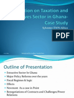 Taxation and Extractive Sector in Ghana-Case Study-Nairobi