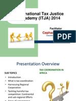 Tax Academy Presentation Tax Coordination in Africa - Cephas Makunike