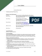 UT Dallas Syllabus for hdcd7350.001 06u taught by Erika Armstrong (erikaa)
