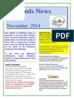 Parklands Newsletter November 2014