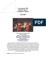 UT Dallas Syllabus for govt3301.001 05f taught by Edward Harpham (harpham)