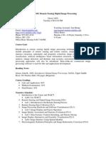 UT Dallas Syllabus for gisc7365.001 05f taught by Fang Qiu (ffqiu)