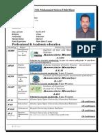 CV M.Salim Ullah Khan -Copy.docx