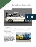 Sisteme de Siguranta La Masinile Cabrio