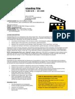 UT Dallas Syllabus for film2332.001 05f taught by Kelli Marshall (kmarshal)