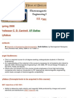 UT Dallas Syllabus for ee4301.001 06s taught by Cyrus Cantrell (cantrell)