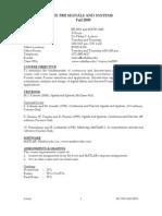 UT Dallas Syllabus for ee3302.001 05f taught by Philipos Loizou (loizou)
