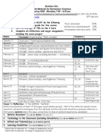 UT Dallas Syllabus for ed4344.501 06s taught by Ingrid Huisman (ibh013000)