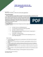 UT Dallas Syllabus for ecs3390.001 05f taught by Kent Polk (kxp046000)