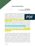 Mejorada y Romulo Nueva Fe Publia Registral Casacion 2025