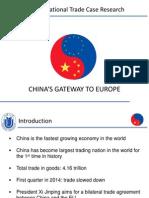 Präsentation Chinas Gateway