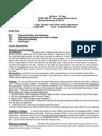 UT Dallas Syllabus for danc3332.501 06s taught by Monica Saba (msaba)
