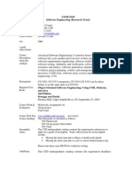 UT Dallas Syllabus for cs6354.001 05s taught by Kendra Cooper (kcooper)