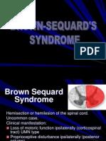 BrownSequard-Syringomyelia