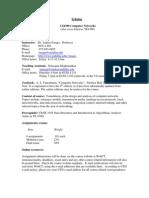 UT Dallas Syllabus for cs4390.001 05s taught by Andras Farago (farago)