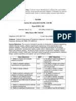 UT Dallas Syllabus for cs3354.501 05f taught by Hieu Vu (hdv013000)