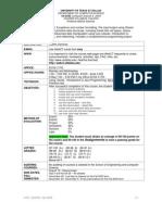 UT Dallas Syllabus for cs2336.002 05f taught by Martha Sanchez (mxs015000)