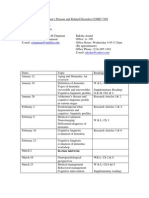 UT Dallas Syllabus for comd7389.001 05s taught by Sandra Chapman (schapman)