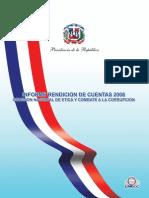 Informe Rendición Cuentas 2008 Completo