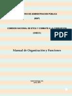 Manual de Organización y Funciones CNECC