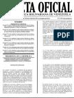 Gaceta Oficial Extraordinaria Nº 6.155