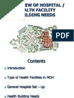 Asas Perancangan Rekabentuk Fasiliti Kesihatan (F)