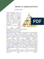 Regimul Alimentar in Angina Pectorala