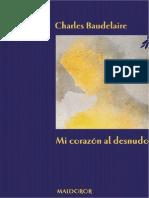 Baudelaire Mi Corazon Al Desnudo