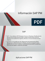 Información SAP PM