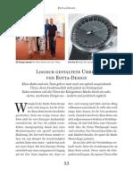 Uhren Magazin Kompendium 2015 Botta Uhren UNO