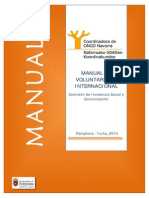 Manual Voluntariado Internacional
