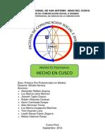 Proyecto Televisivo Ppp Medios Final
