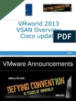 20131018 -- Últimas noticias de VMware & Cisco. Actualización del impacto en VCE y EMC.pptx