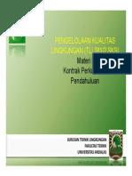 Pertemuan I PKL 2013 2014