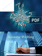 Resume Writing(New)