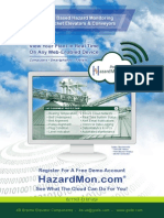 HazardMon.com - Cloud-based hazard monitoring, view your plant - anytime, from anywhere