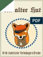 Ein alter Hut - Kritik studentischer Verbindungen in Dresden